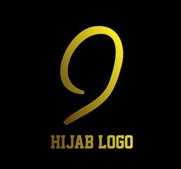 hijab muslimah logo  muslimah has mean multy talent women