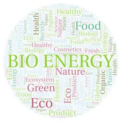 Bio Energy word cloud.