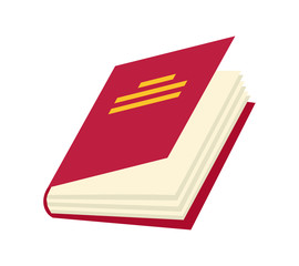 Vector book Icon. Books in various angles