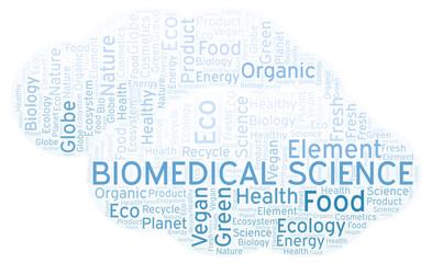 Biomedical Science word cloud.