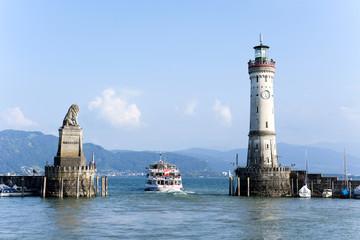 Lindau, Bodensee, Hafen, Schiff, Österreich