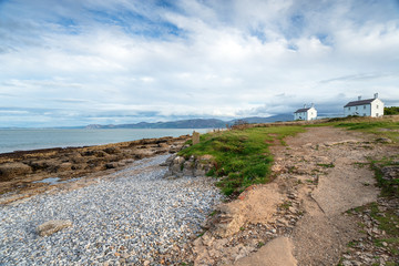 Wall Mural - Cottages at Penmon Point