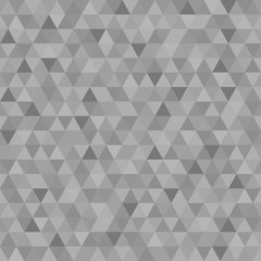 Seamless triangle pattern. Pastel colors. Abstract geometric wallpaper of the surface. Monochrome background. Print for polygraphy, posters, t-shirts and textiles. Beautiful texture. Doodle for design