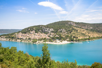 Lake of Sainte-Croix, France