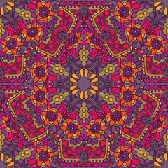 ethnic vector seamless pattern mandala design surface