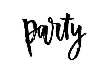 slogan Party phrase graphic vector Print Fashion lettering calligraphy