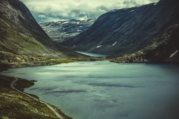 Fotomurales - Norwegian Mountain Landscape