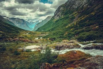 Wall Mural - Summer Norwegian Landscape