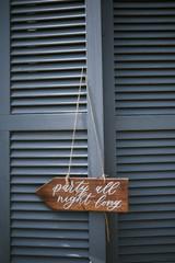 Hochzeitsdekoration Handlettering Schild