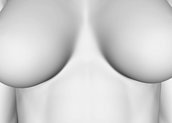 Breast Cancer - 3D Concept