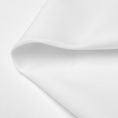 roll white fabric cloth texture on white background