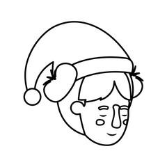 head of woman sleeping avatar character