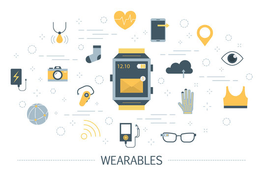 Wearable technology for a healthcare and communication