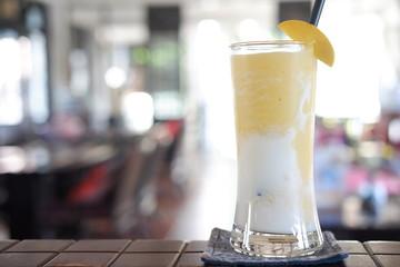 healthy drink mango smoothie