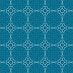Ornamental Arabesque geometric pattern . Islamic mosaic design and decoration.