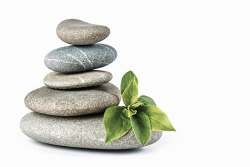 Zen pebbles balance