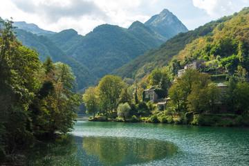 lago di santo, italy, tuscany
