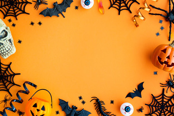 Halloween party border Fotoväggar