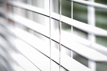 Jaluzi on the window