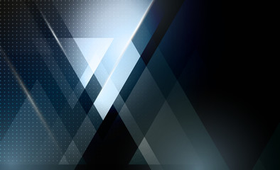 Vector abstract geometric background with triangle shape