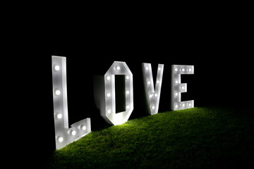 love inscription , Valentines day background