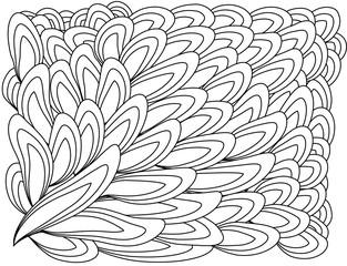 Pattern For Coloring Book Ethnic Floral Retro Doodle Tribal Design Element