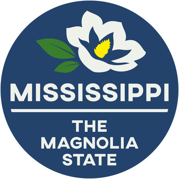 mississippi: the magnolia state | digital badge