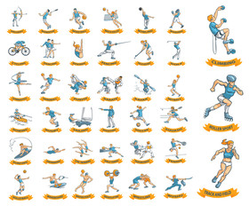 39 olympic sports