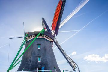 Windmühlen bei Zaanse Schans in Holland