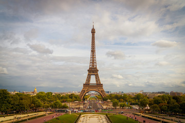 Wall Mural - Paris Eiffel Tower, France