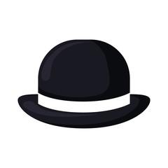 elegant british male hat icon