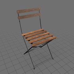 Wood bistro chair