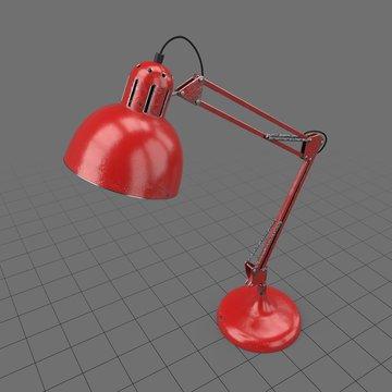 Balanced arm lamp