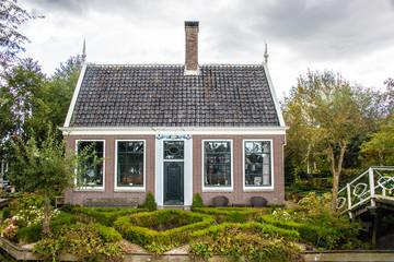 Typisches holländisches Landhaus