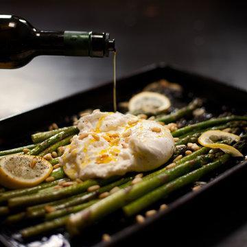 Baratta and Asparagus