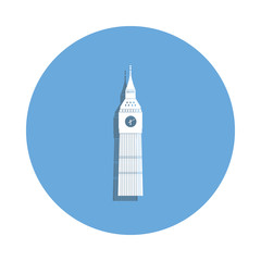 Egypt famous buildinig icon in badge style. One of Bulding collection icon can be used for UI, UX