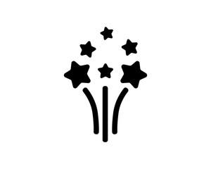black Celebration fashion image vector icon logo symbol