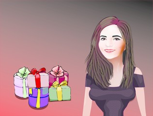 gifts for women. Banner