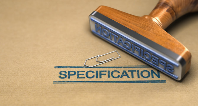 Technical Standards, Specification.