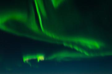 Aurora, northern lights, night .