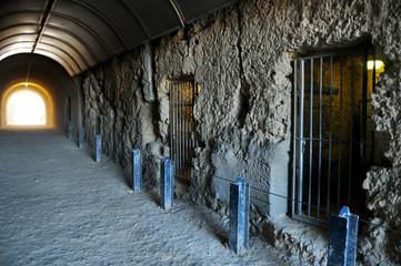Keuken foto achterwand Oceanië The Whaler's Tunnel of Round House Prison at Fremantle port city in Perth, Australia