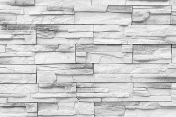Old gray Bricks Wall Pattern brick wall texture or brick wall background light for interior or exterior brick wall building and brick decoration texture.