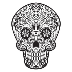 Mexican Calavera Skull