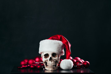 The skull of Santa Claus