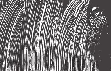 Grunge texture. Distress black grey rough trace.