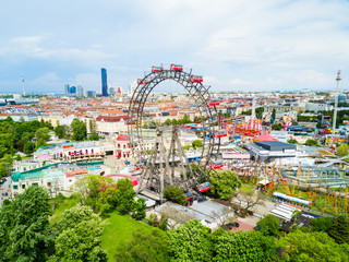 Prater park in Vienna Wall mural