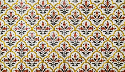 Decoration pattern in Junagarh Fort