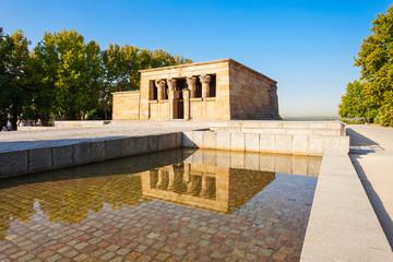 The Temple of Debod in Madrid, Spain