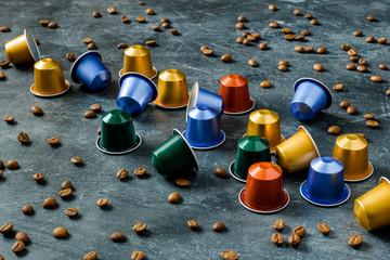 capsules of coffee