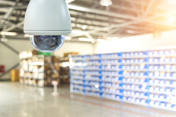 360 degree security camera with cloud system. warehouse CCTV camera.